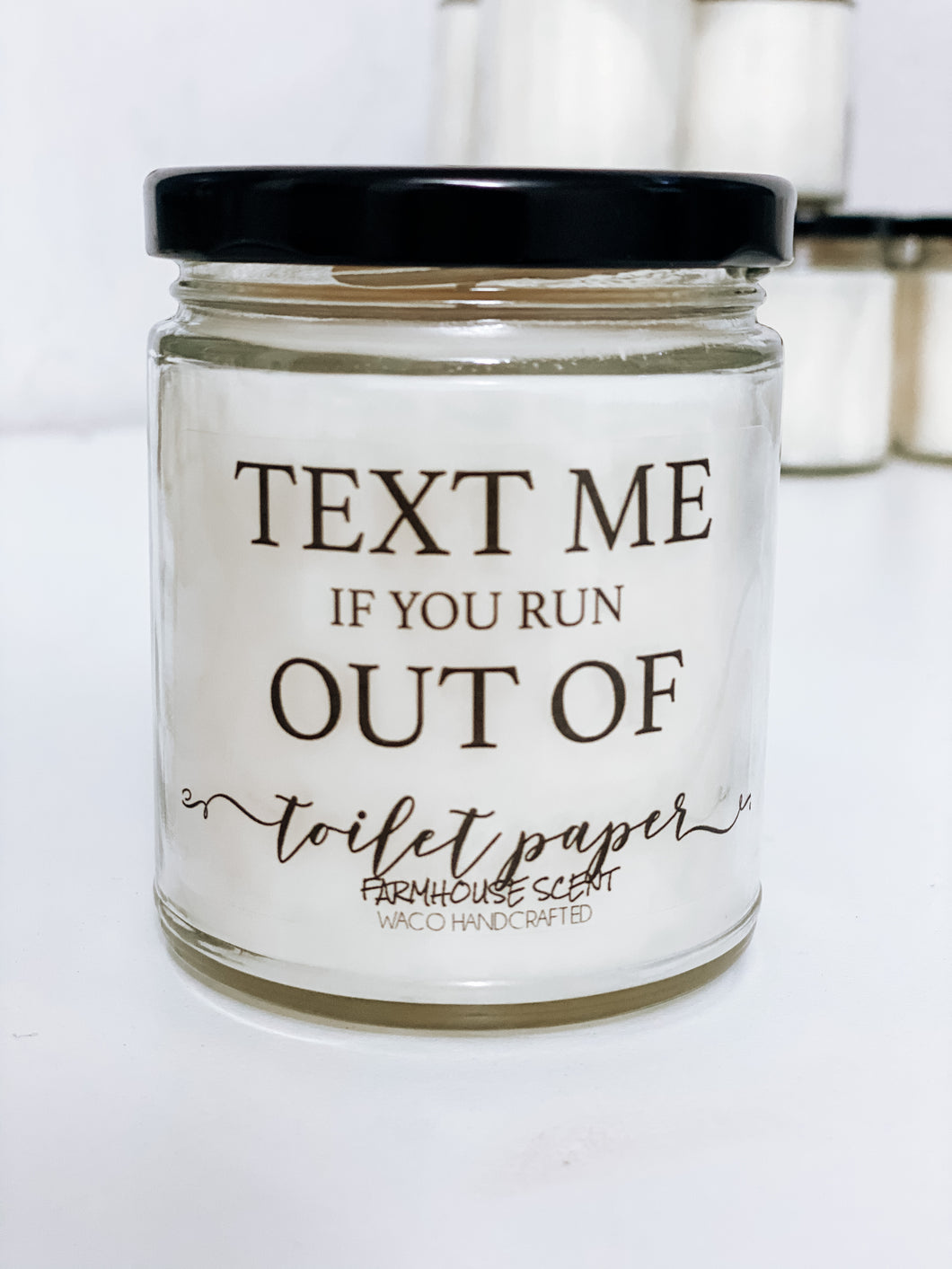 Text Me Scented Candle | 9 oz or 16 oz | Novelty Candle - Waco Handcrafted