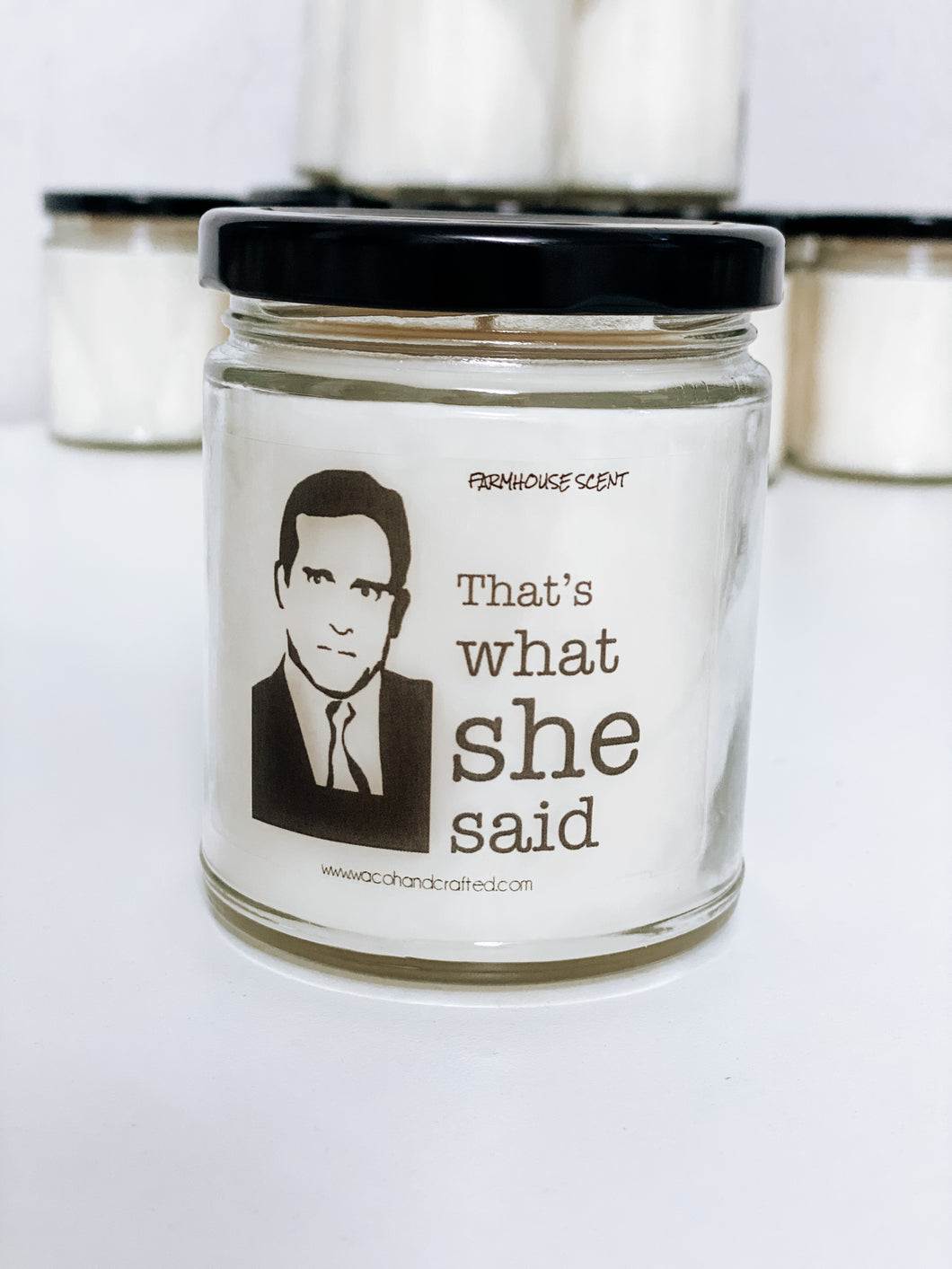 That's What She Said Scented Candle | 9 oz or 16 oz | - Waco Handcrafted
