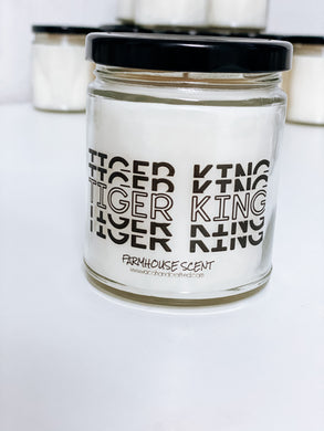 Tiger King Scented Candle | 9 oz or 16 oz | Novelty Candle - Waco Handcrafted