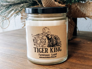 Joe Exotic Tiger King Scented Candle - Waco Handcrafted