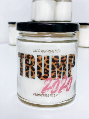 TRUMP 2020 Scented Candle | 9 oz or 16 oz | Novelty Candle - Waco Handcrafted