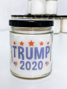 TRUMP 2020 STARS Scented Candle | 9 oz or 16 oz | Novelty Candle - Waco Handcrafted