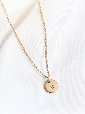 Yuri Mini Necklace — Gold Filled
