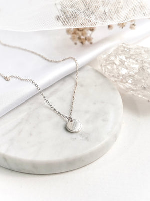Load image into Gallery viewer, Yuri Mini Necklace — Sterling Silver