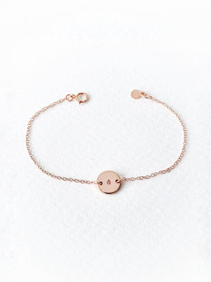 Load image into Gallery viewer, Chloe Mini Bracelet — Rose Gold Filled