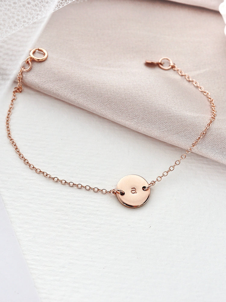 Chloe Mini Bracelet — Rose Gold Filled