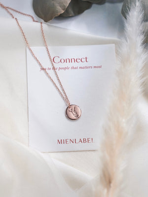 Togetherness Disk Necklace —  Connect