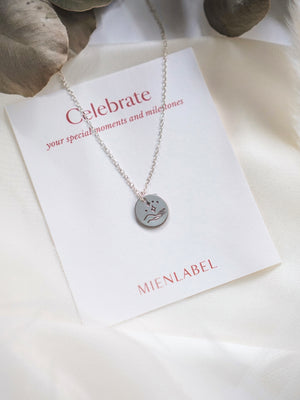 You're Magic Disk Necklace —  Celebrate