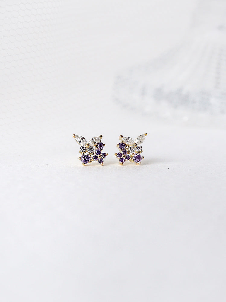 Load image into Gallery viewer, Serenity Butterfly Earrings
