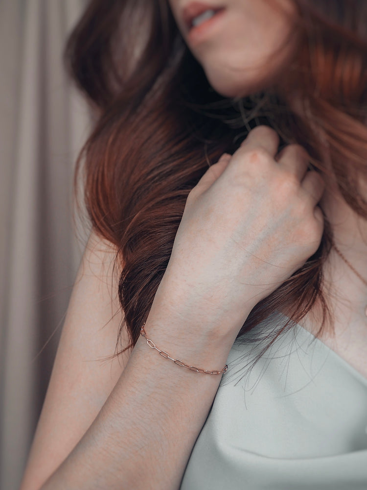 Sana Link Bracelet — Rose Gold Filled