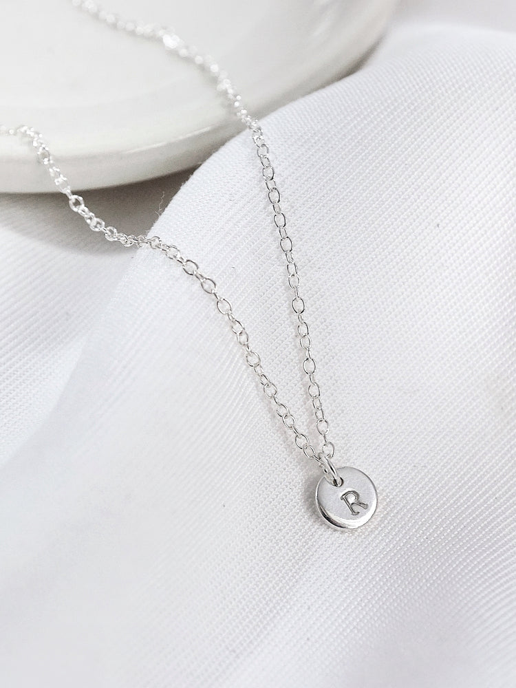 Load image into Gallery viewer, Thea Petite Necklace — Sterling Silver