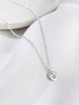 Thea Petite Necklace — Sterling Silver