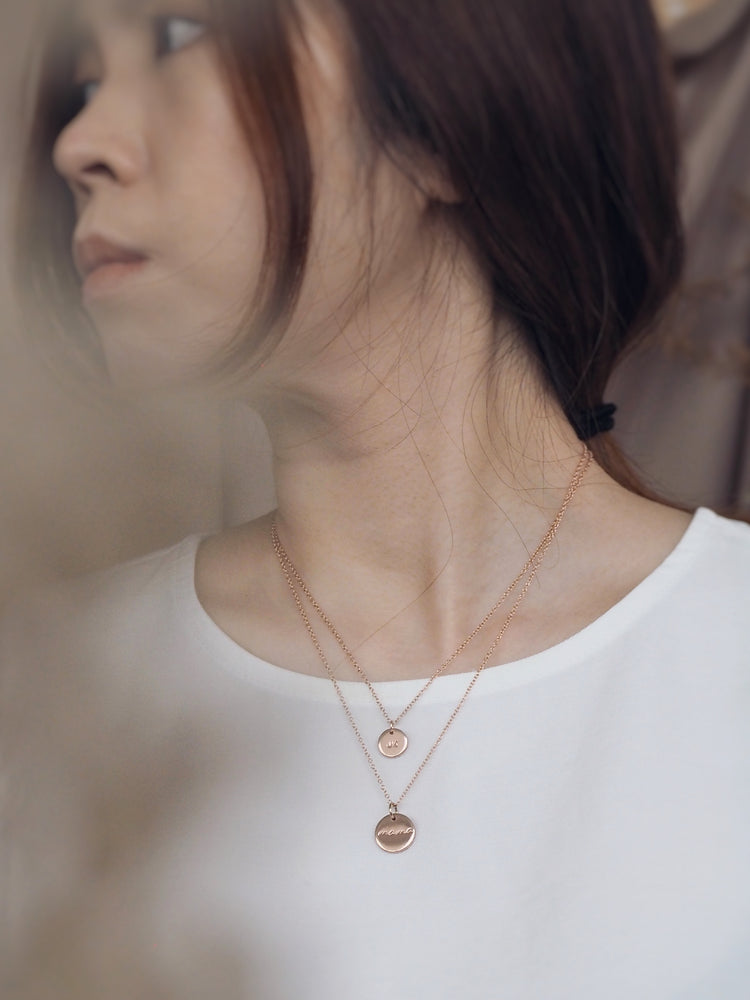Yuri Mini Necklace — Rose Gold Filled