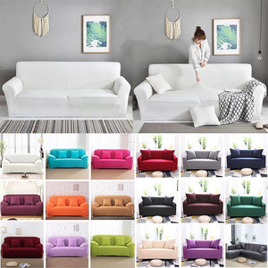 BeautyHome™ Decorative Stretchable Elastic Colorful Living Room Sofa Covers (2020 Collection)