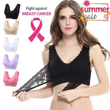 Load image into Gallery viewer, CARA Full-Figure Plus-Size Seamless Wire-free Lift Support Bra