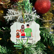 Load image into Gallery viewer, 2020 Personalized Christmas Ornament Family Ornament