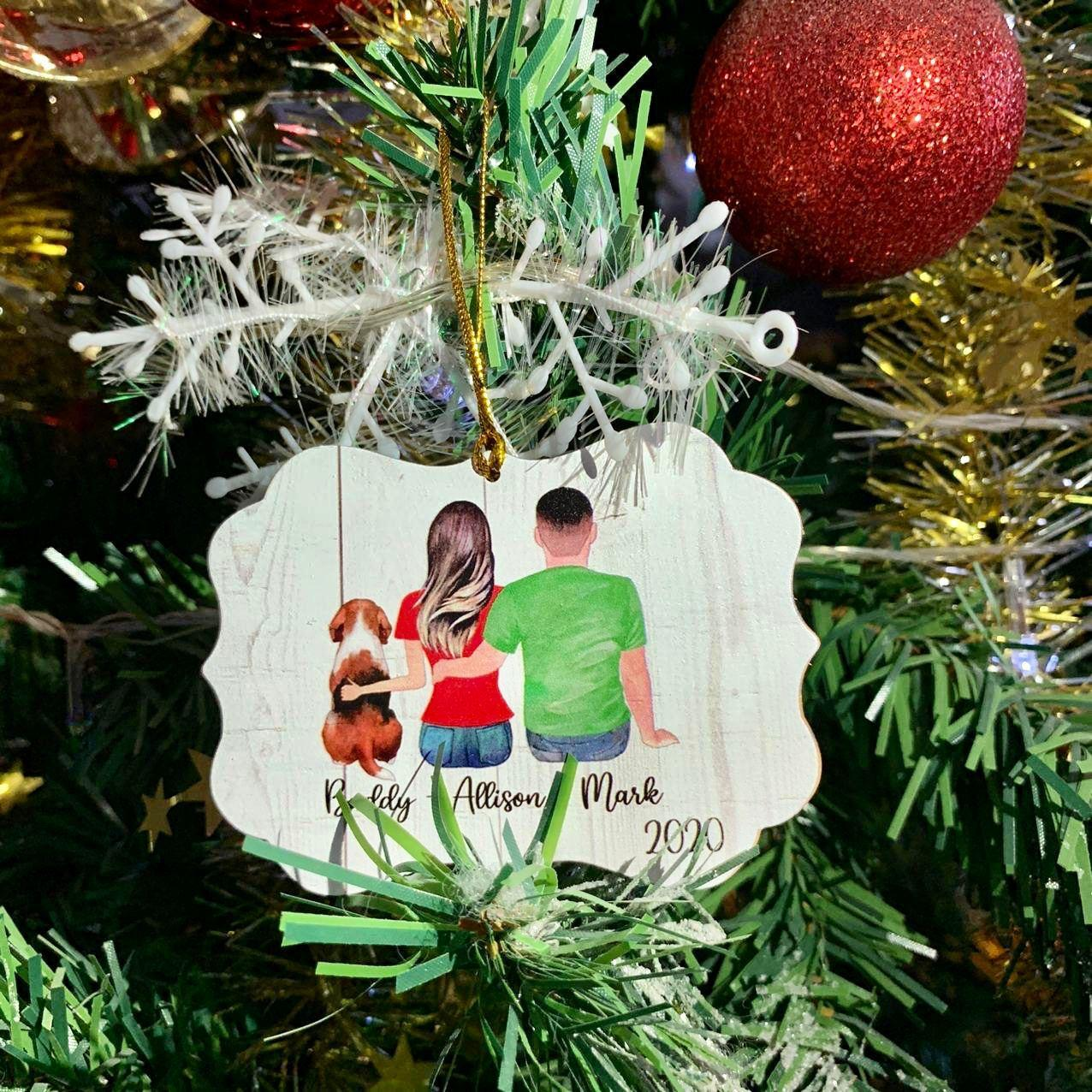 2020 Personalized Christmas Ornament Family Ornament