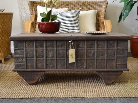 Antique Chest - Coffee Table