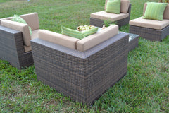 Sectional Wicker Corner Chair