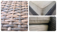 Outdoor Wicker Set 3 PCS