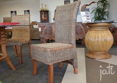 Natural Rattan Dining Chairs