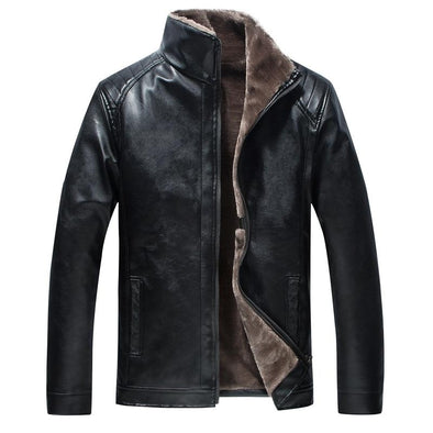 Windproof Leather Jacket