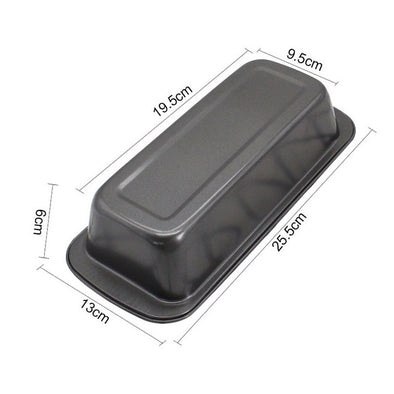 Rectangle Carbon Steel Cake Mold