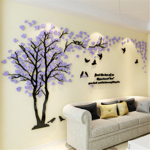 Tree Acrylic Decorative Wall Sticker