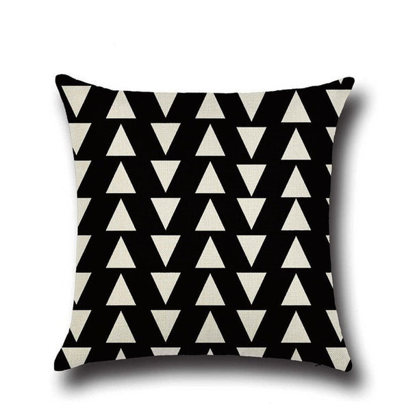 Nordic Style Geometric Throw Pillow Cover