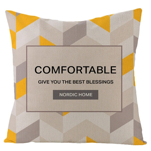 Nordic Decorative Pillow Case