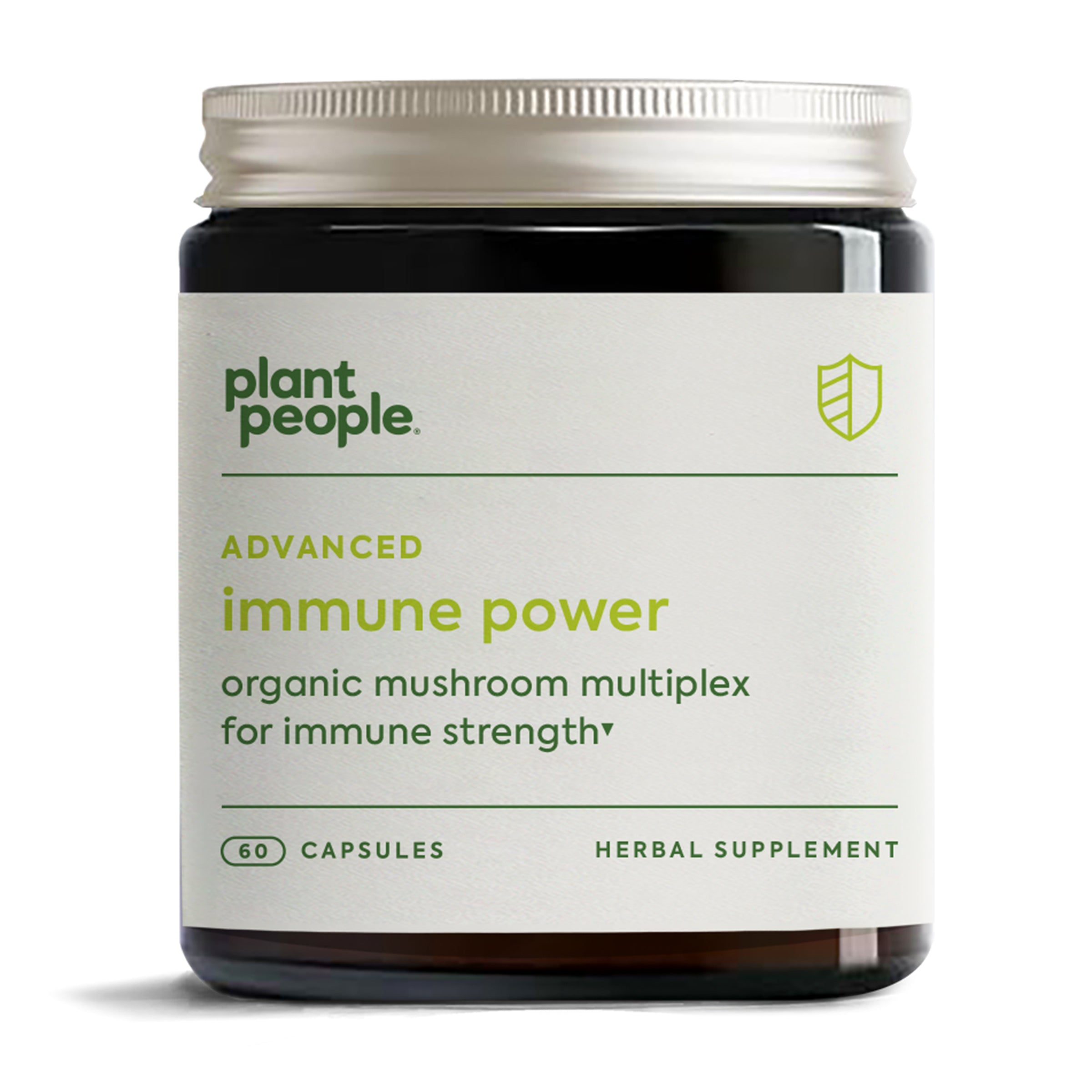 Plant People Advanced Immune Power Herbal Capsules