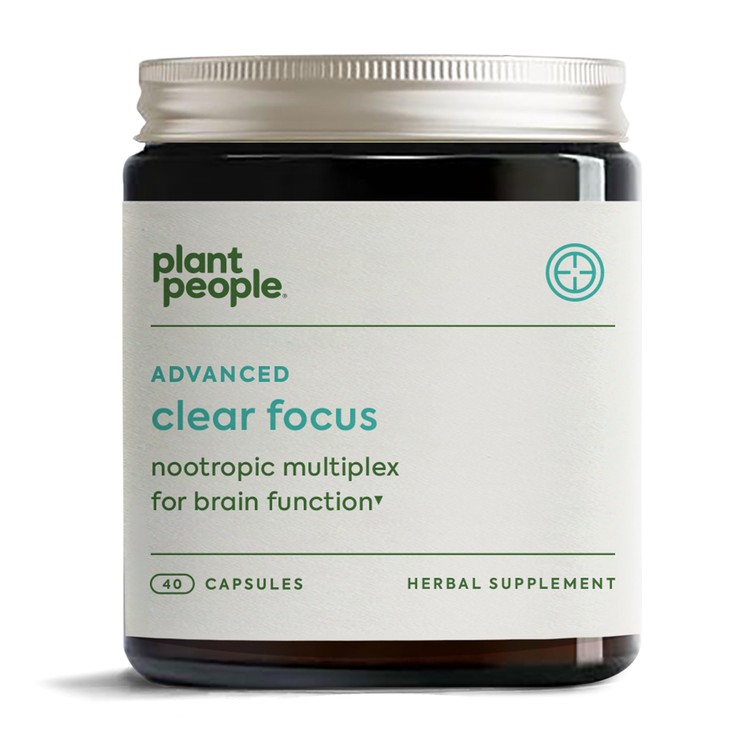 Plant People Clear Focus Daily Brain Health Capsules