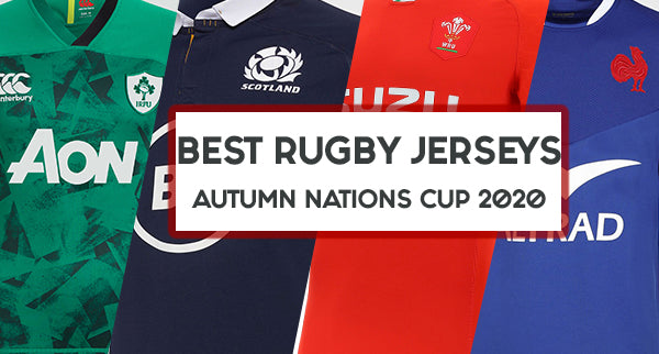 RANKINGS: Best Rugby Jerseys from the 2020 Autumn Nations Cup