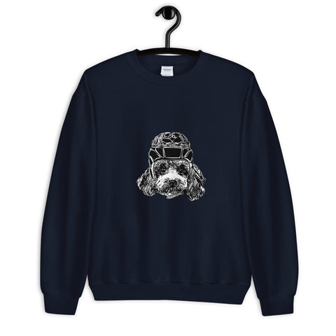 Poodle Rugby Dog Sweater