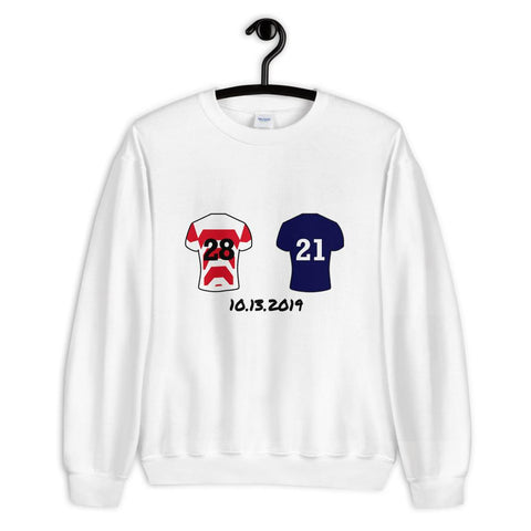 Japan v Scotland Sweater - Rugby Shirtee