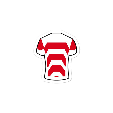 Japan Jersey Sticker - Rugby Shirtee