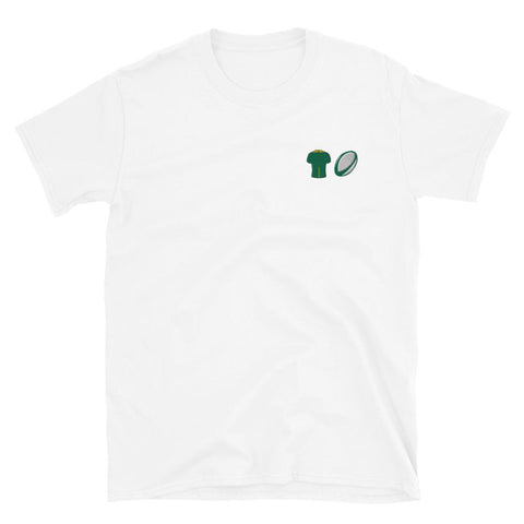 Embroidered South Africa Tee - Rugby Shirtee