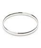 Solid Silver Medium Weight Bangle