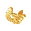 Hammered Leaf Cuff