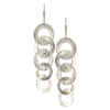 Sterling Silver Cascading Circles on Earwire