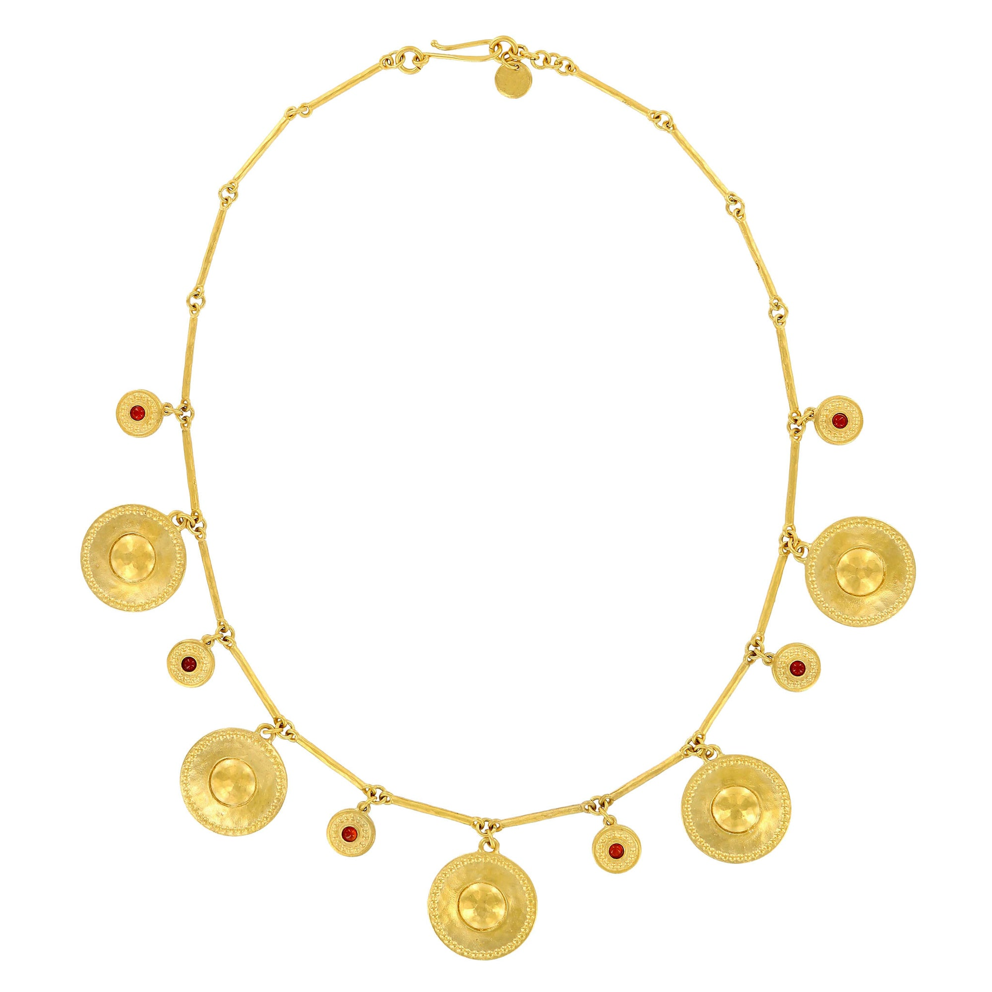 s account heavy create plated brass ri gold closure satin hammered link riccova accented an necklace gp with chain links