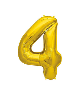 Birthday Number Balloons