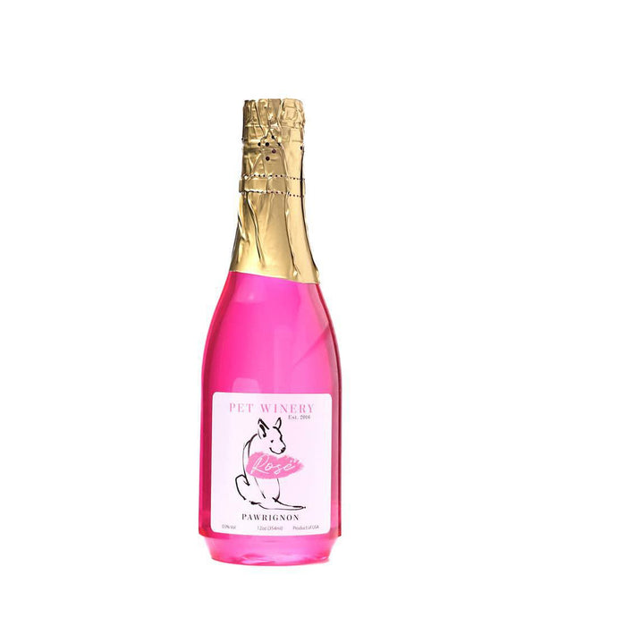 Dog Champagne Rosé - Pet Winery