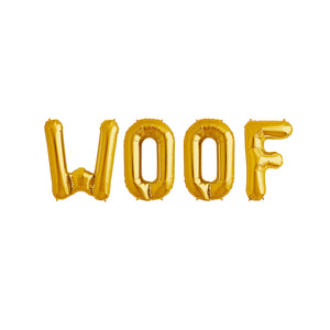 Woof - Balloon Banner Set