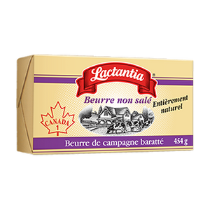 Unsalted Butter Lactantia - 454g