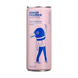 Case of Nitro Cold Brew from Minor Figures  - Mocha (12 x 200ml)