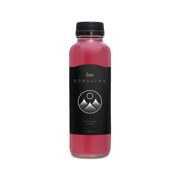 Case of Lao Kombucha - Flamant Rose / Flamingo (12 x 355ml)