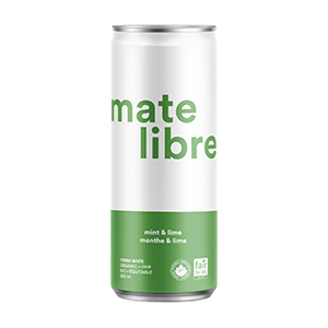 Case of Mate Libre - Menthe & Lime (12 x 250ml)