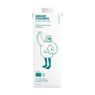 Case of Minor Figures Organic Oat Milk (6 x 1 L)