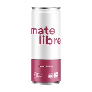 Case of Mate Libre - Rose & Hibiscus (12 x 250ml)